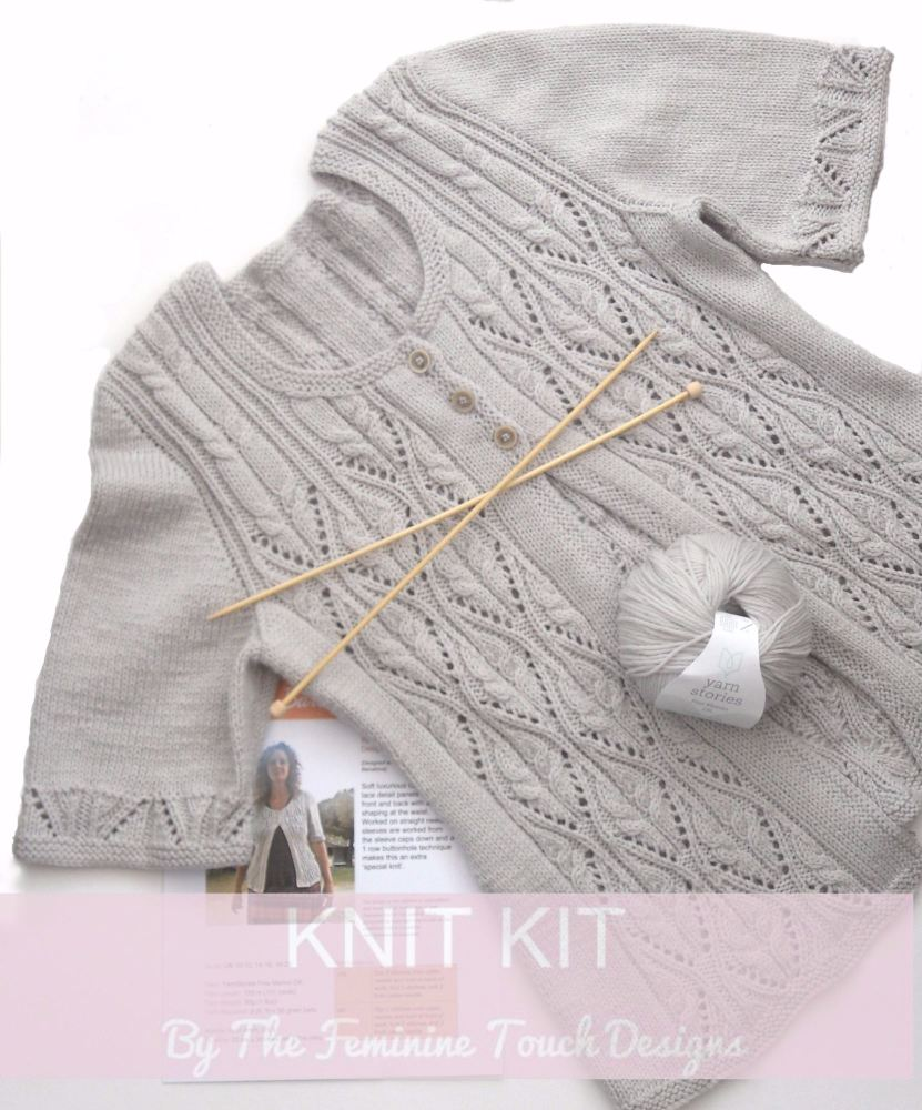 Barcelona Cardigan Knitting Kit
