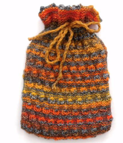 Fire! Hot water bottle cover