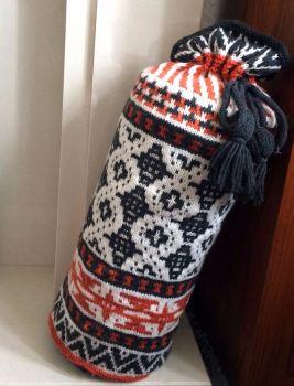Marrakesh Bolster Knitting Pattern