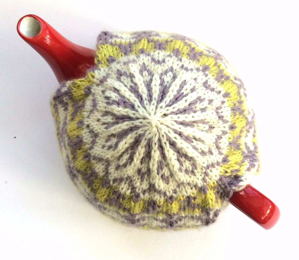 Hand knitted Tea Pot Cosy