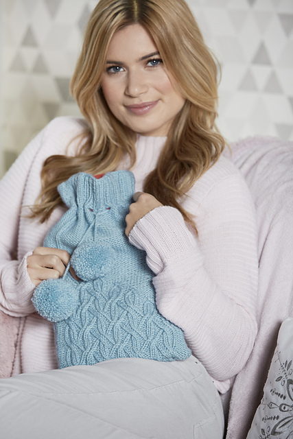 Frozen hot water bottle cover pattern