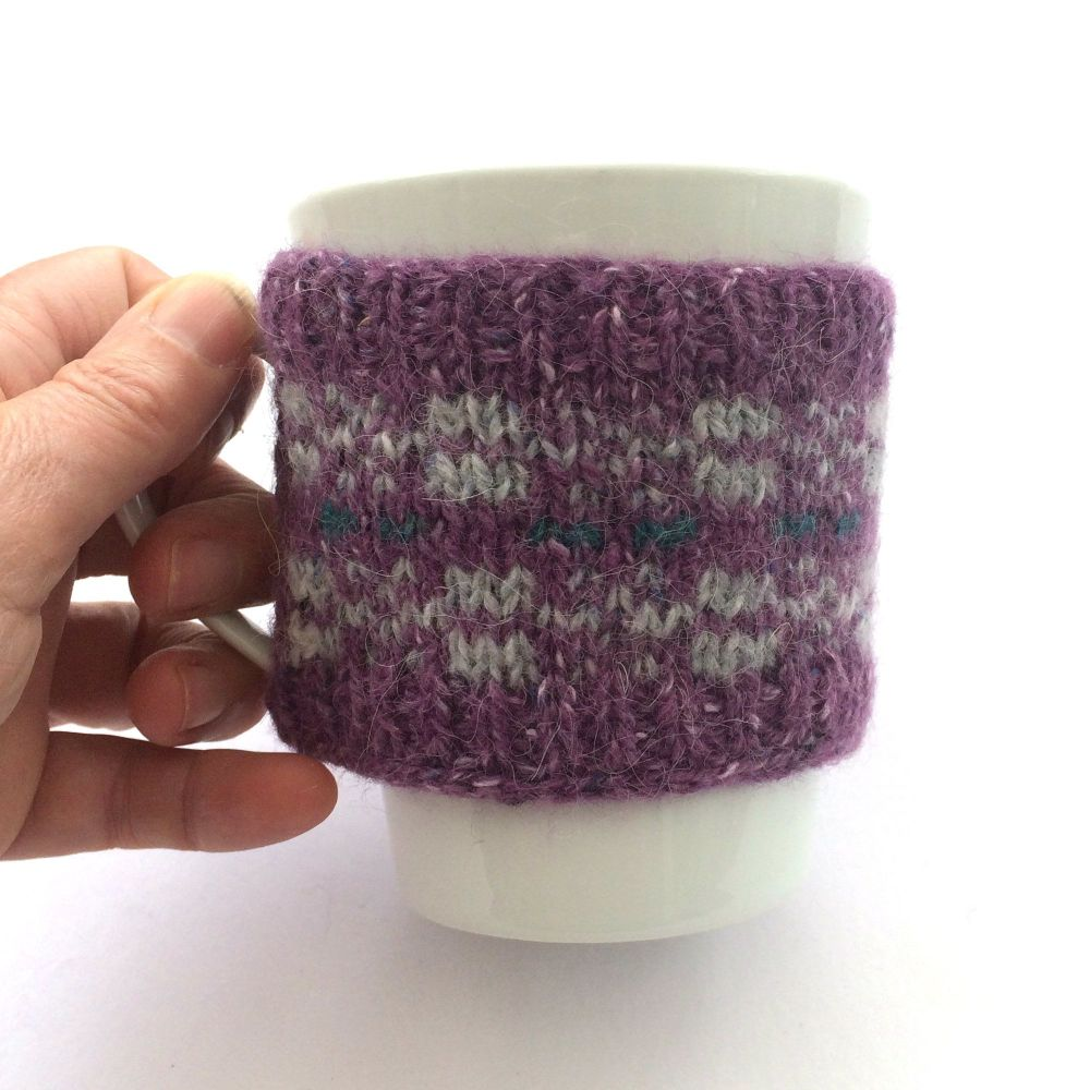 Purple mug hug