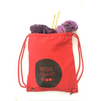 Wild About Wool Project Bag - 3 colour choices