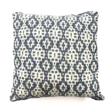 Blue / Cream  Honey Pot pillow