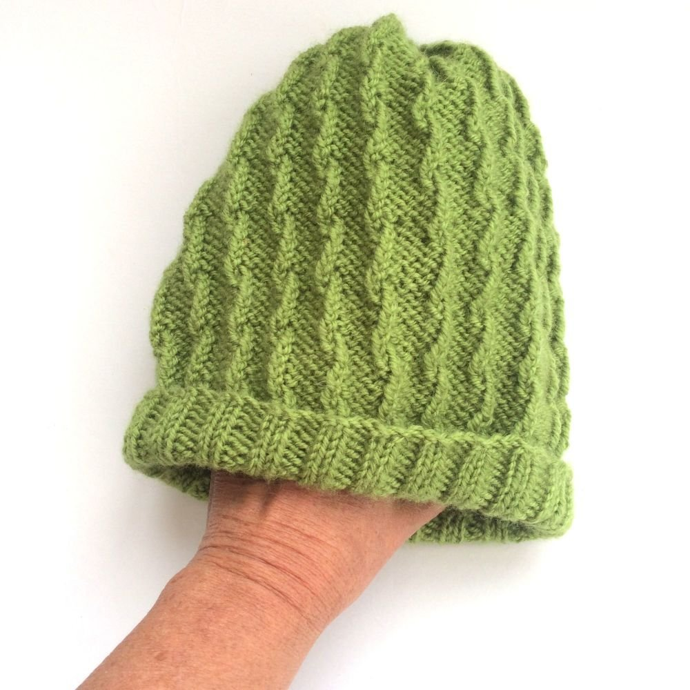 Apple Green Beanie hat