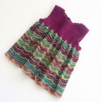 Sweet Pinafore - Baby knitting pattern
