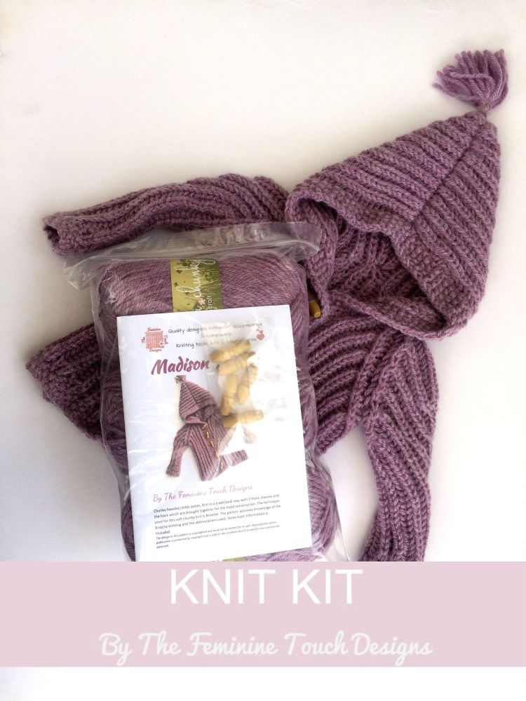 Madison Jacket Knitting Kit