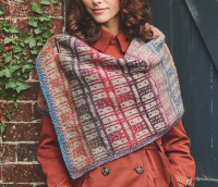Knitting Pattern for Cairnsmore Tartan Wrap