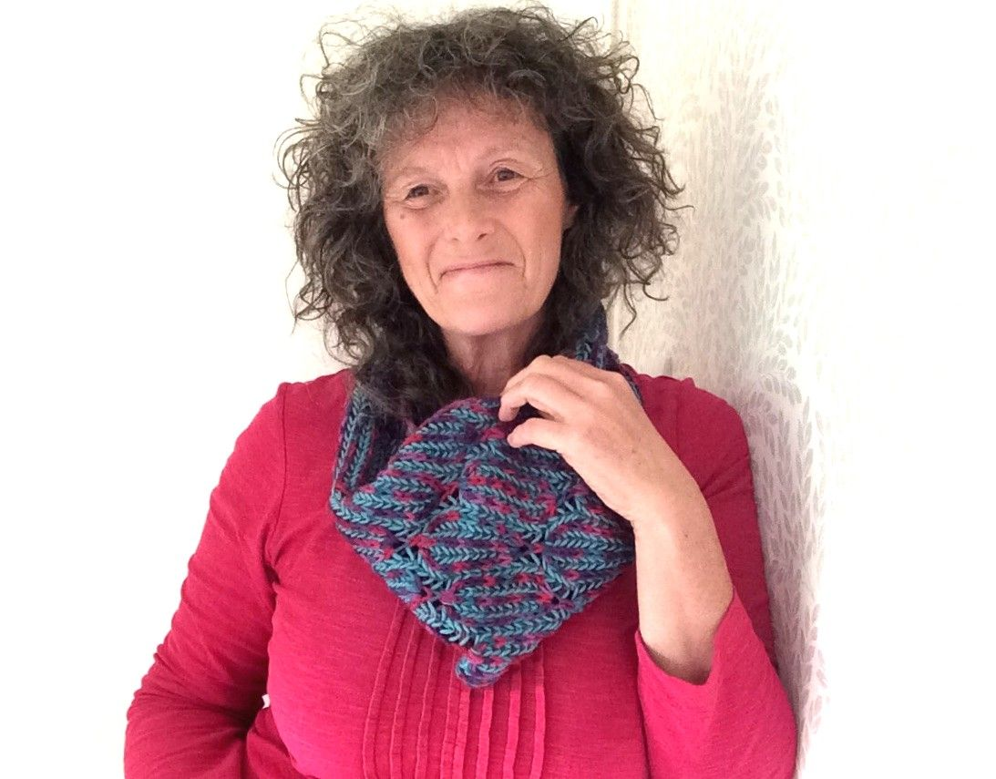 Stepping Stones Cowl Knit Kit