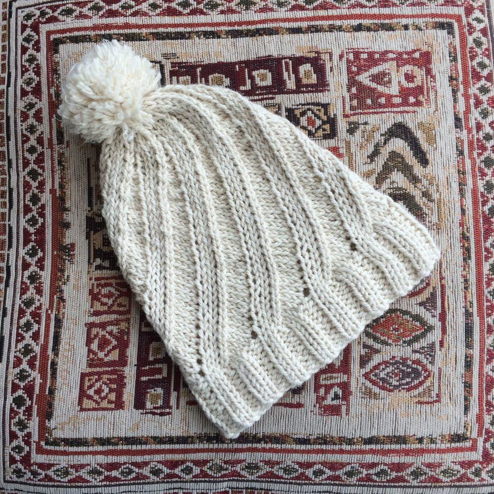 Abbotts Alpaca Chunky Hat Knitting Kit