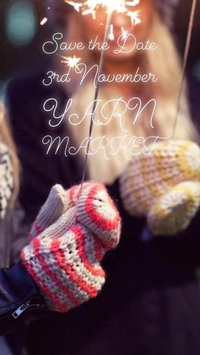 Pop up yarn market