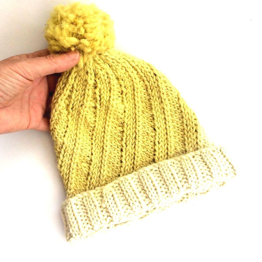 Nettle Top Alpaca Chunky Hat