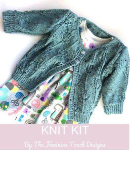 Hyacinth Childs Cardigan Knitting Kit