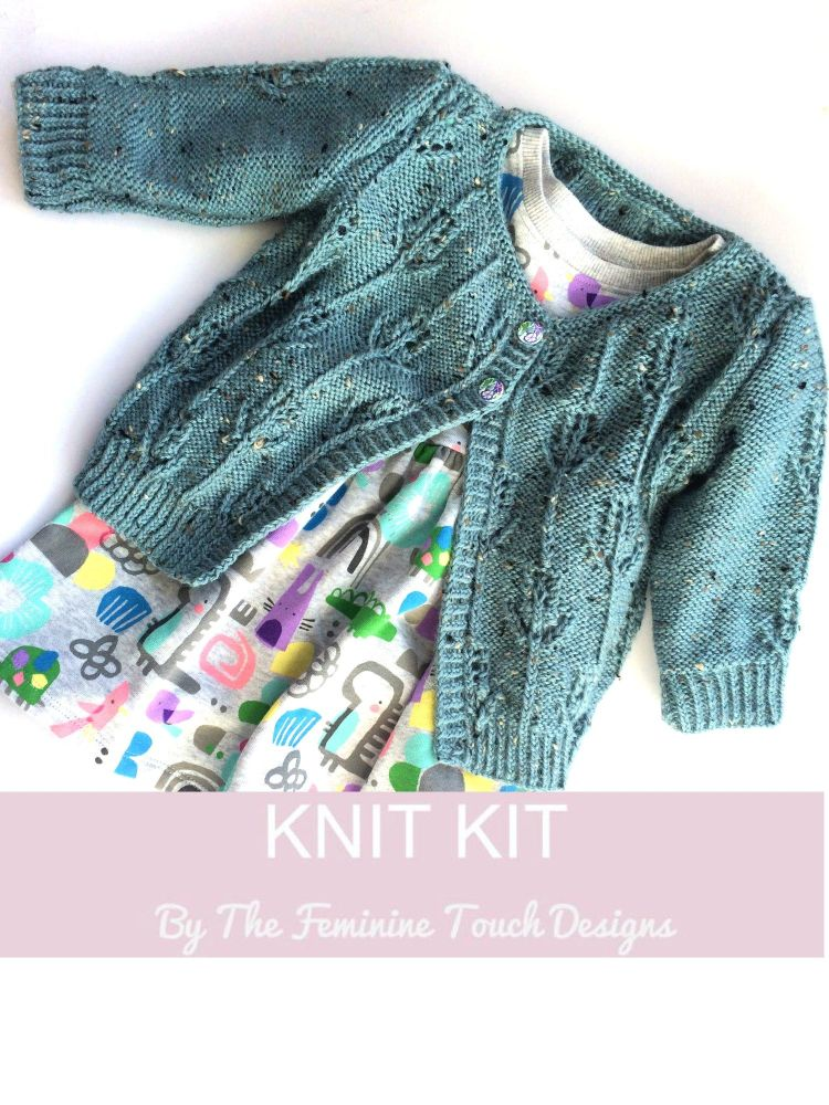 Hyacinth Childs Cardigan Knitting Kit