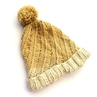 Barberry Top Alpaca Chunky Hat