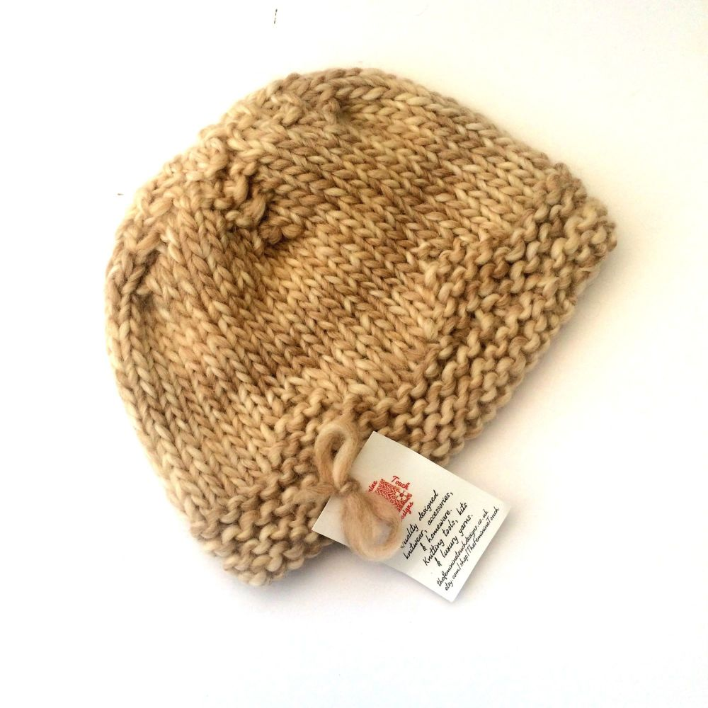 Cream Wool Hat