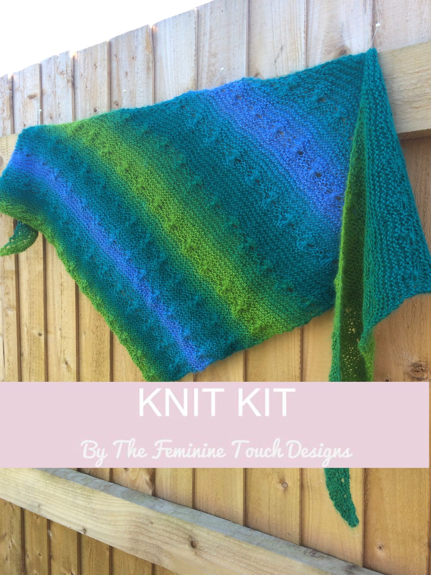 Flower Catcher Knit Kit