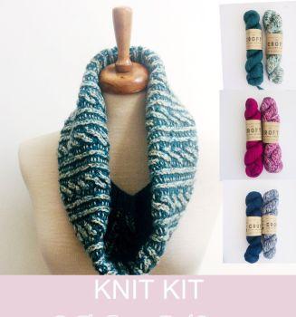 Eddy Cowl Knitting Kit