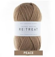 Re:Treat - Peace - Chunky Roving 100% wool yarn