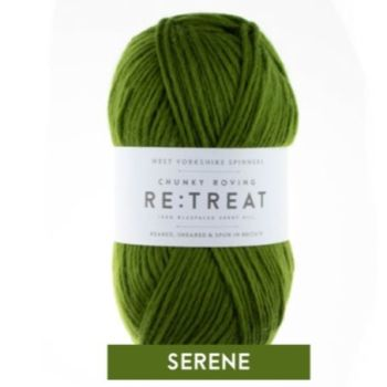 Re:Treat - Serene - Chunky Roving 100% wool yarn