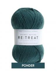 Re:Treat - Ponder - Chunky Roving 100% wool yarn