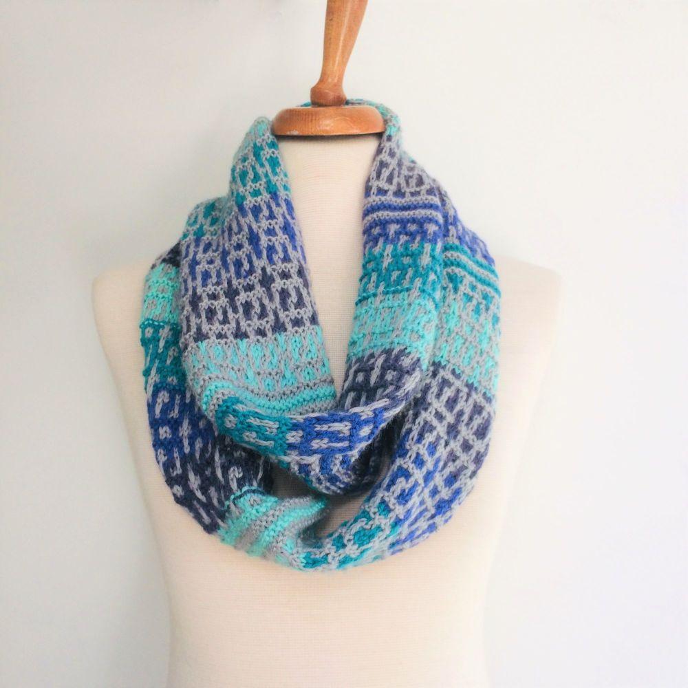 Infinity Scarf Knitting Kit
