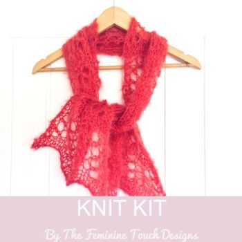 Easy Lace Knitting Kit