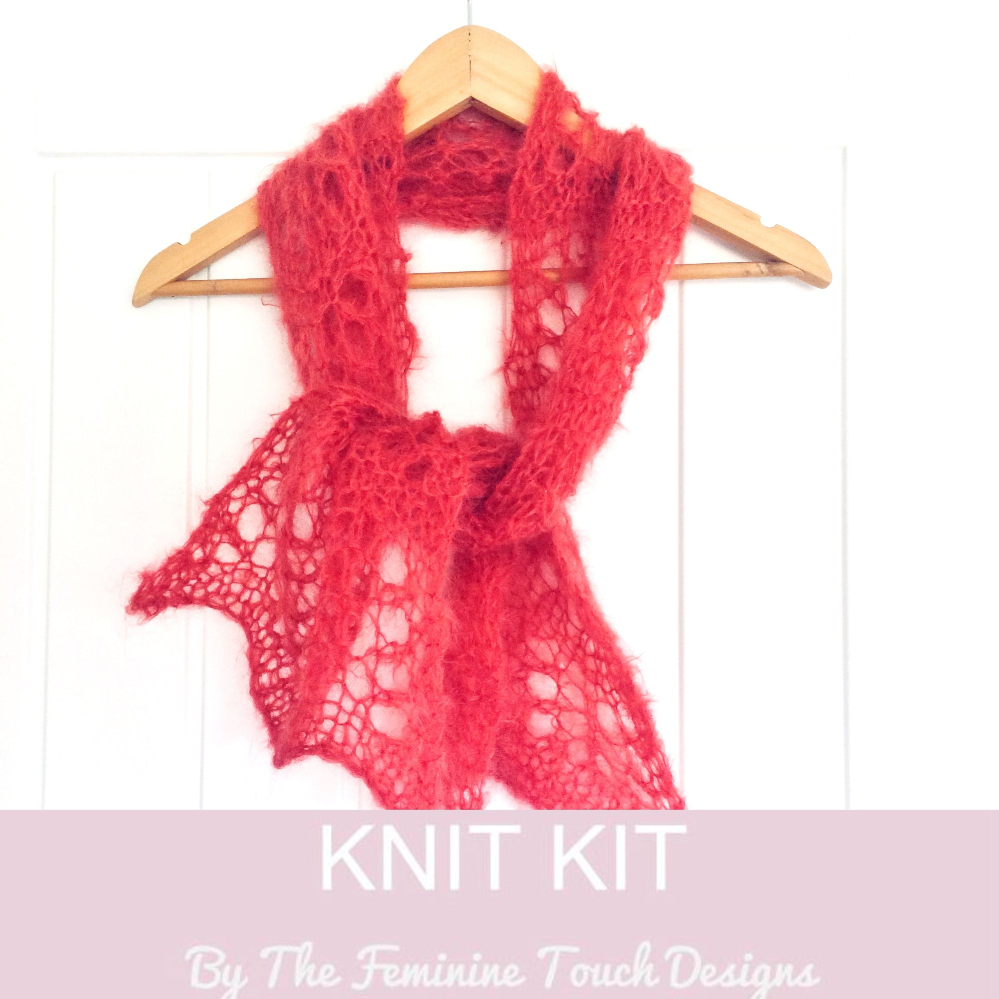 Easy Lace Scarf kit