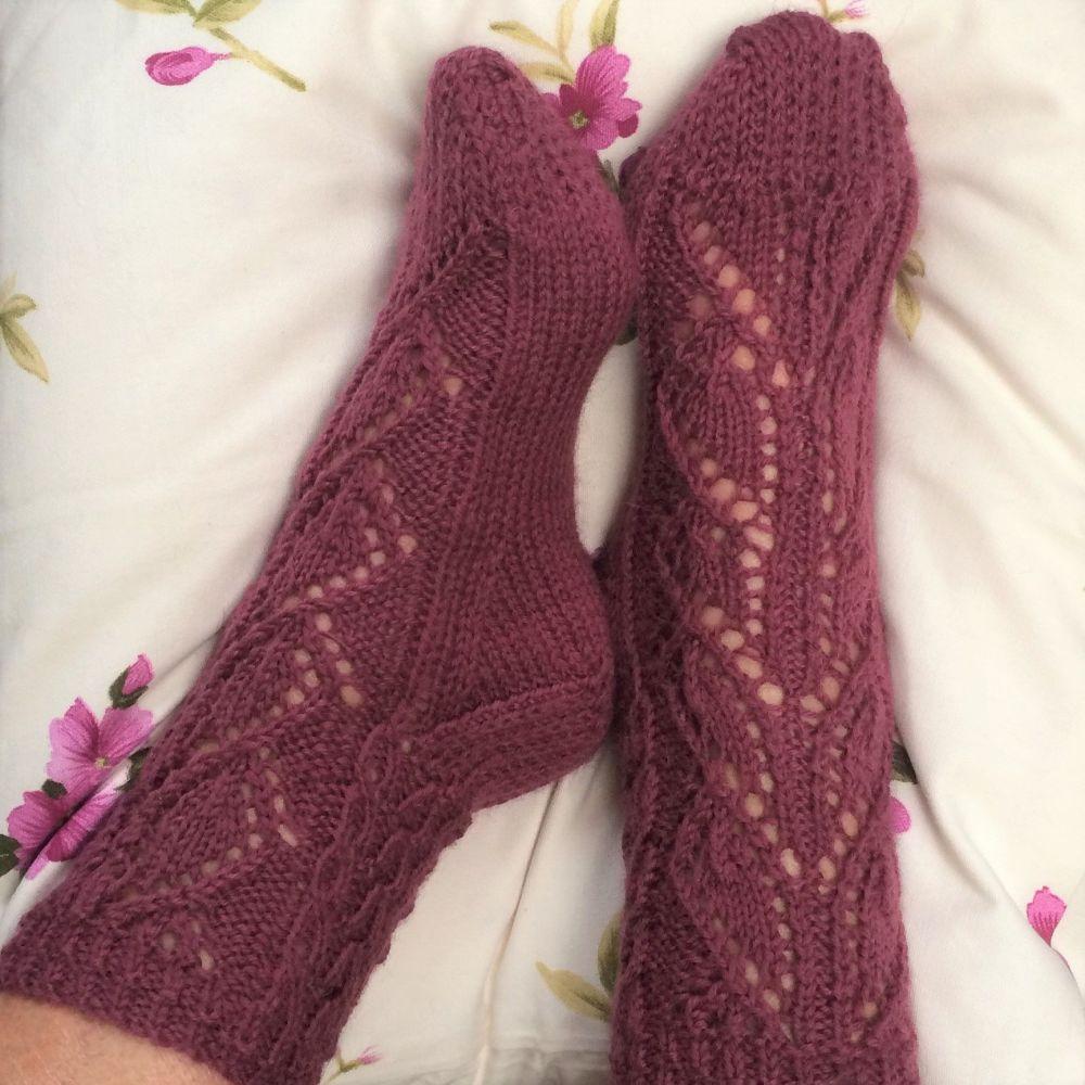 Kilani Socks knitting kit