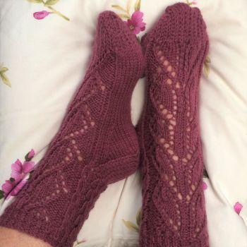 Kilani Socks knitting kit