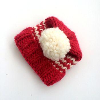 Striped Womens Beanie Hats