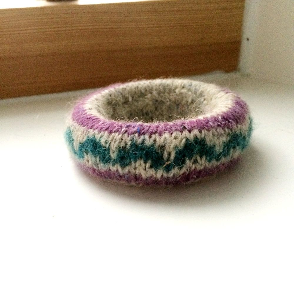 ZigZag Wool Bracelet