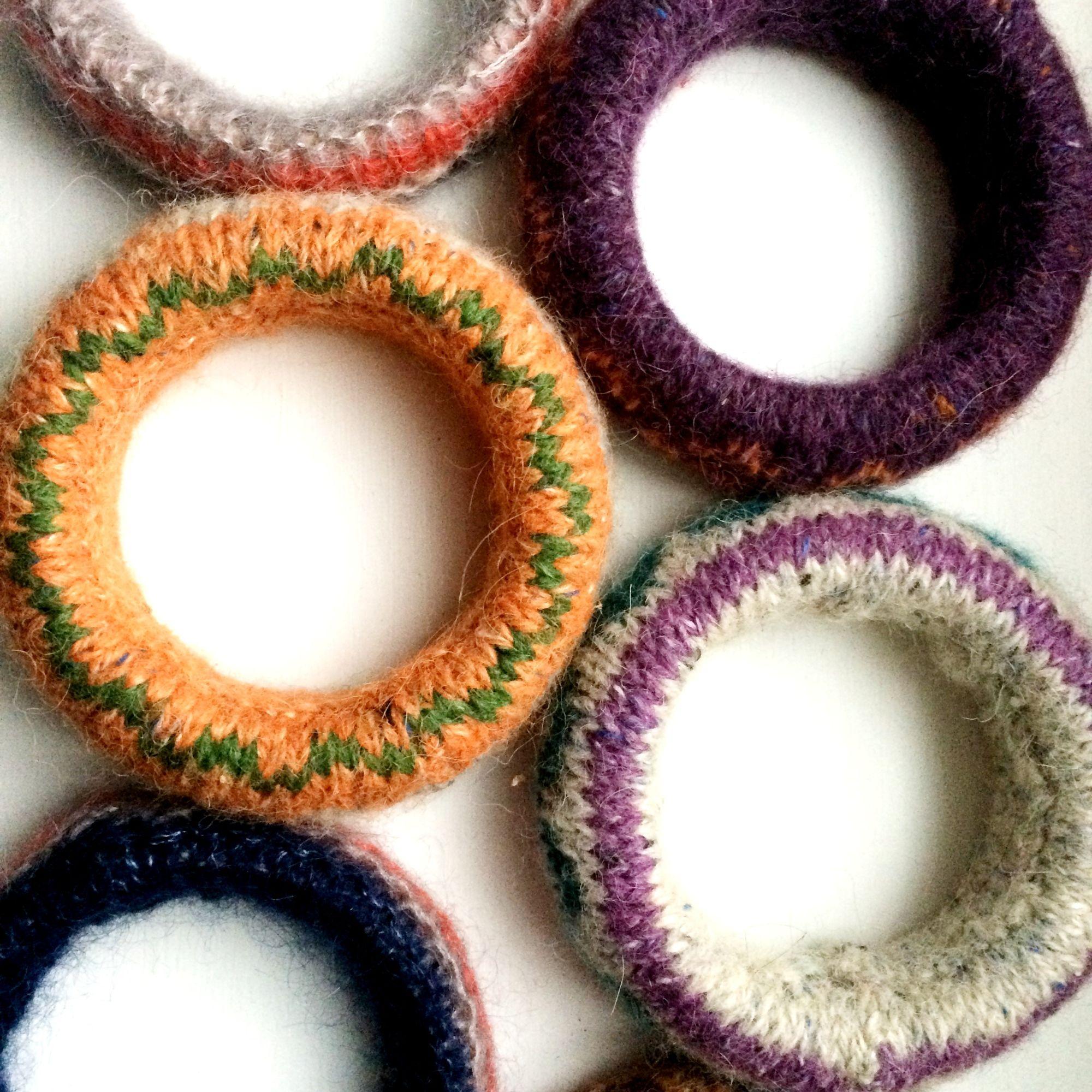 Wool Bracelets