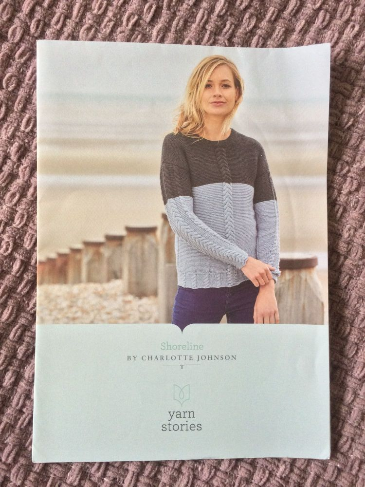 Shoreline Yarnstories Knitting pattern  - SALE