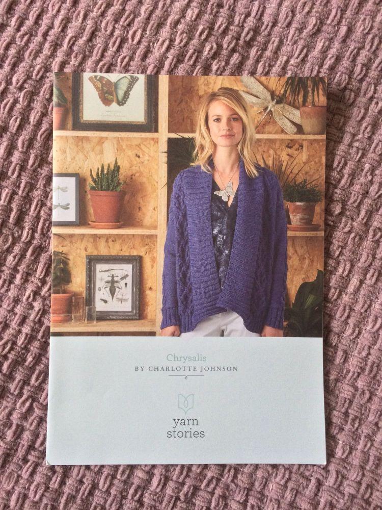Chrysalis Yarnstories Knitting pattern  - SALE