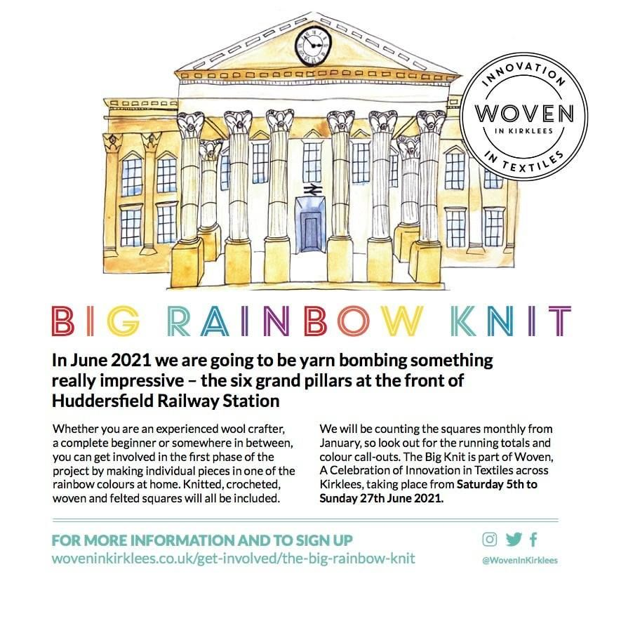 The Big RainBow Knit