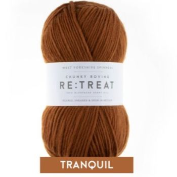 Re:Treat - Tranquil - Chunky Roving 100% wool yarn DISCOUNTED