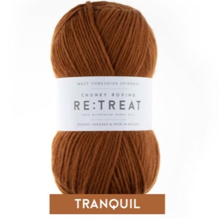 Re:Treat - Peace - Chunky Roving 100% wool yarn DISCOUNTED