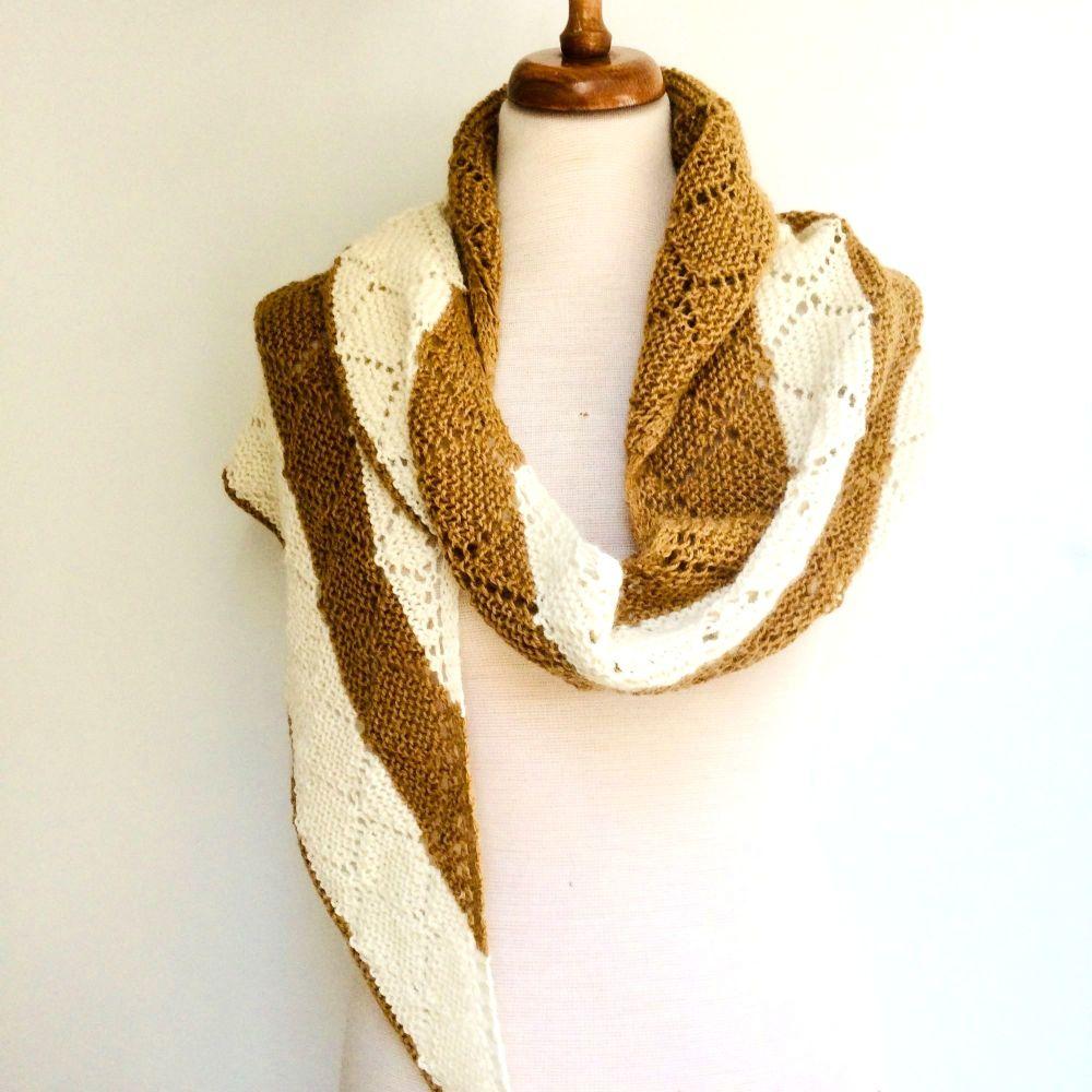 Diamond Shawl Knitting Kit