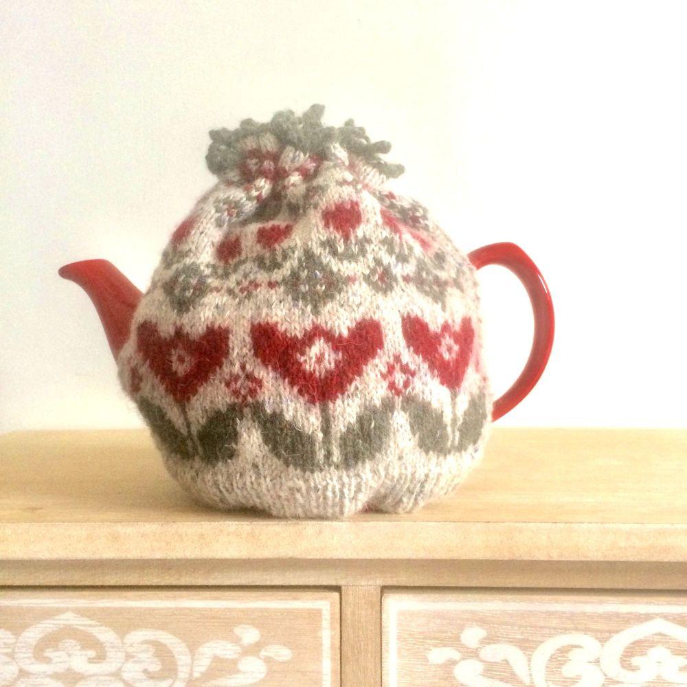 Tulip Tea and Mug Cosy pattern