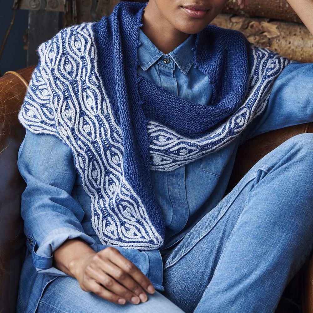 Lodore Falls Shawl Knitting Kit