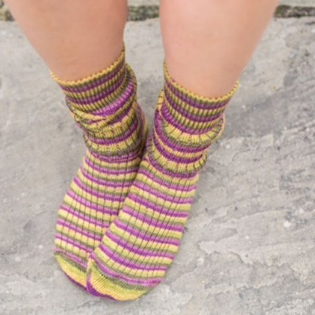 Passion Fruit - West Yorkshire Spinners Luxury Socks