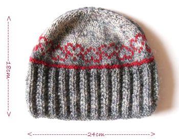 Hearts tea cosy knitting pattern