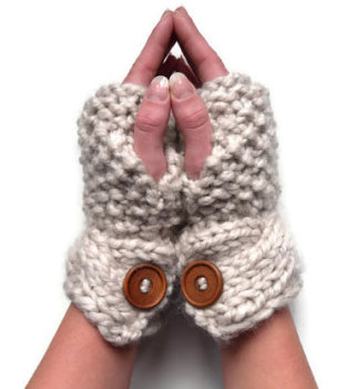 Super Chunky gloves knitting pattern