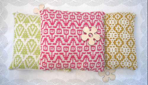 PDF Cushion cover / pillow Knitting Pattern
