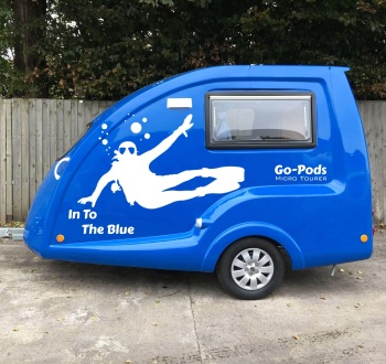 In To The Blue SE Go-Pod - Nearside
