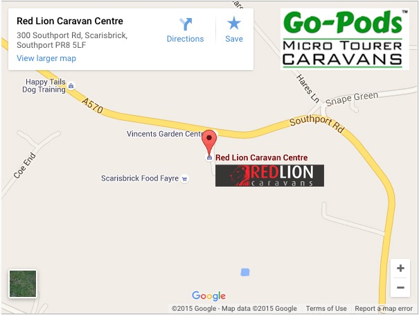 GO-PODS VIEWING LOCATION - LANCASHIRE