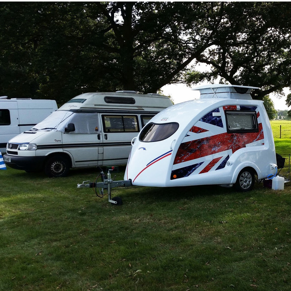 Freedom caravanning with Go-Pods 9