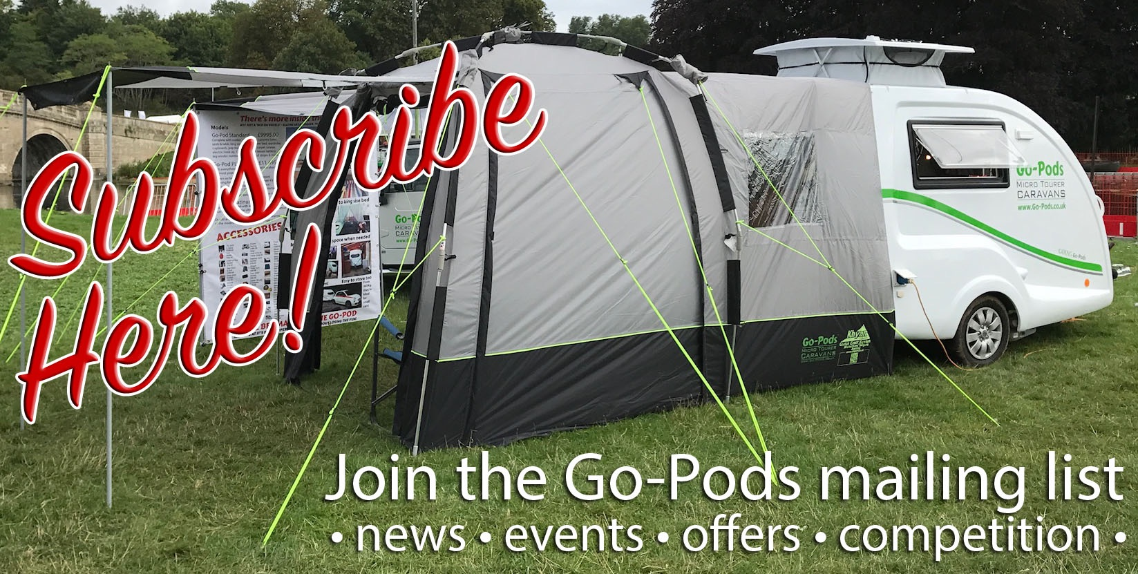 Join The Go Pods Mailing List Here