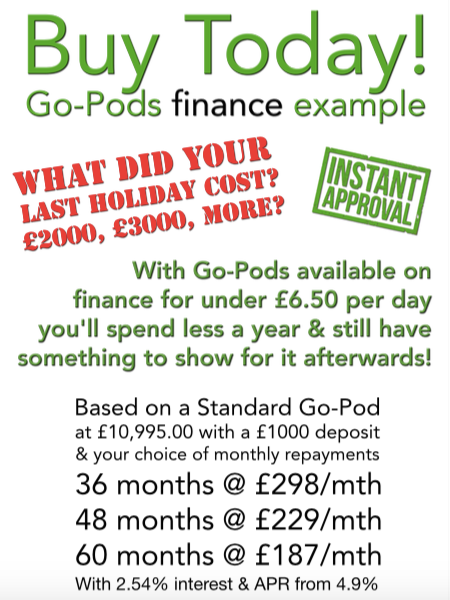 Go-Pods finance